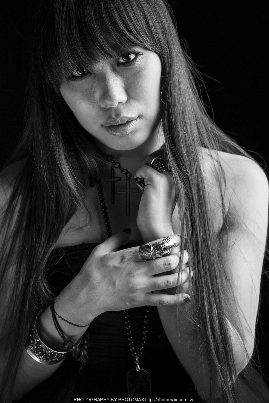 顏妍 PHOTO MAX 老麦摄影 PHOTOMAX 非主流写真 摇滚 贝斯手 (13)