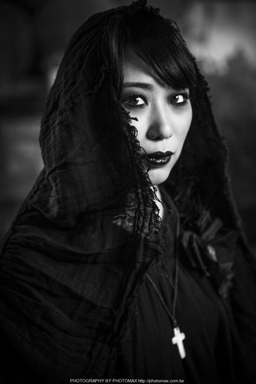 顏妍 PHOTO MAX 老麦摄影 PHOTOMAX 非主流写真 摇滚 贝斯手 (4)