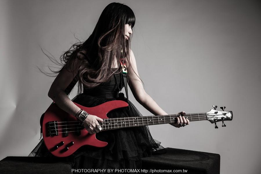 顏妍 PHOTO MAX 老麦摄影 PHOTOMAX 非主流写真 摇滚 贝斯手 (10)