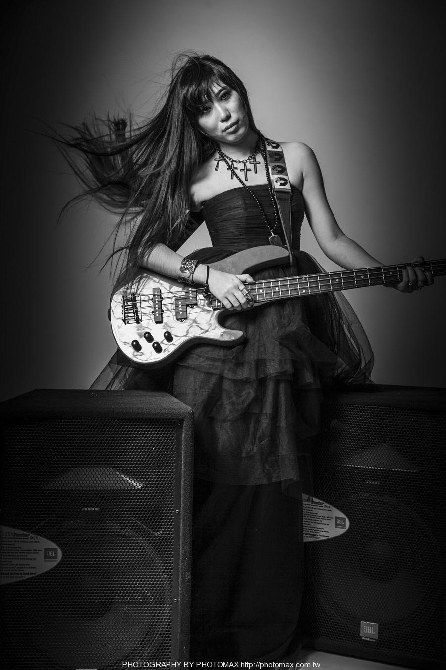 顏妍 PHOTO MAX 老麦摄影 PHOTOMAX 非主流写真 摇滚 贝斯手 (11)